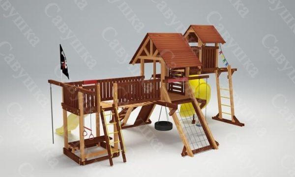 Детская площадка Савушка Lux - 15_4