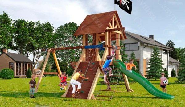 Детская площадка Савушка Lux - 2