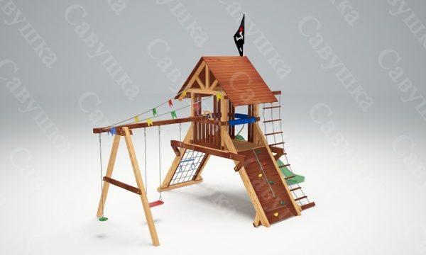 Детская площадка Савушка Lux - 2_3