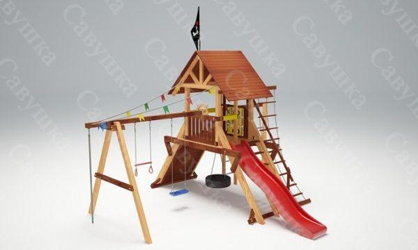 Детская площадка Савушка Lux - 3_3