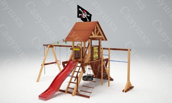 Детская площадка Савушка Lux - 3_4