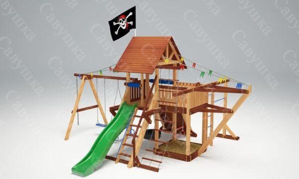 Детская площадка Савушка Lux - 6
