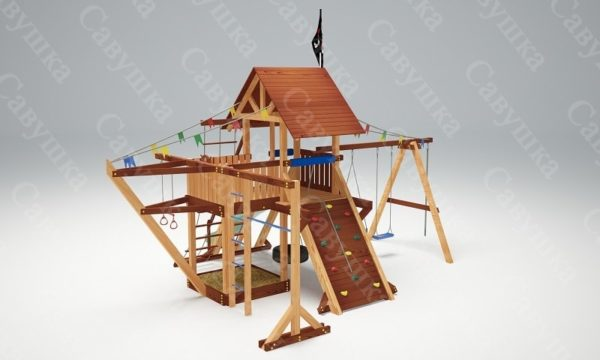 Детская площадка Савушка Lux - 6_1