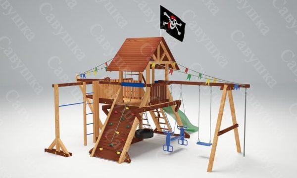 Детская площадка Савушка Lux - 6_4