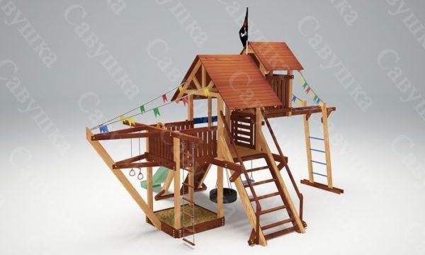 Детская площадка Савушка Lux - 7_3