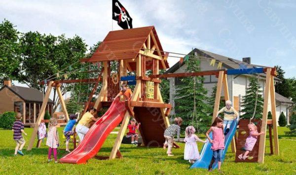 Детская площадка Савушка Lux - 8