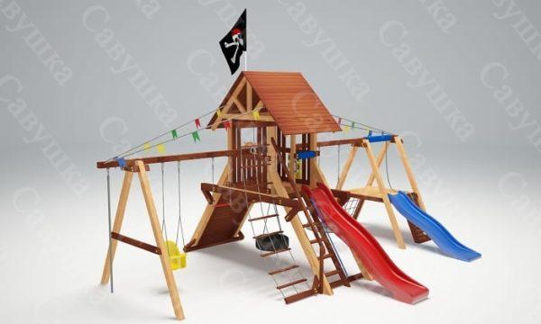 Детская площадка Савушка Lux - 8_1