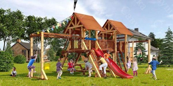 Детская площадка Савушка Lux - 9