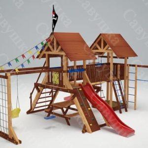 Детская площадка Савушка Lux - 9_1