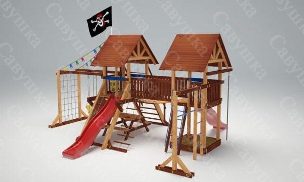 Детская площадка Савушка Lux - 9_2
