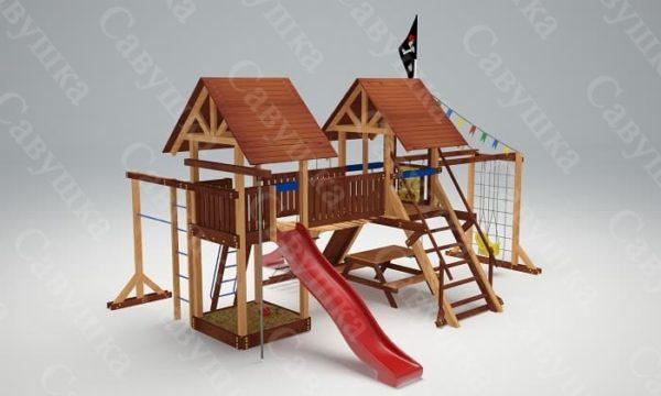 Детская площадка Савушка Lux - 9_3