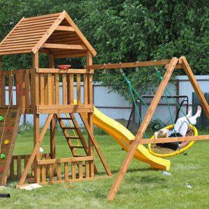 Детская площадка Африка качели-гнездо 1м.