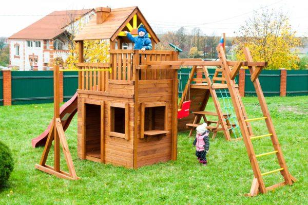 Детская площадка Выше Всех Крепость Спорт_2