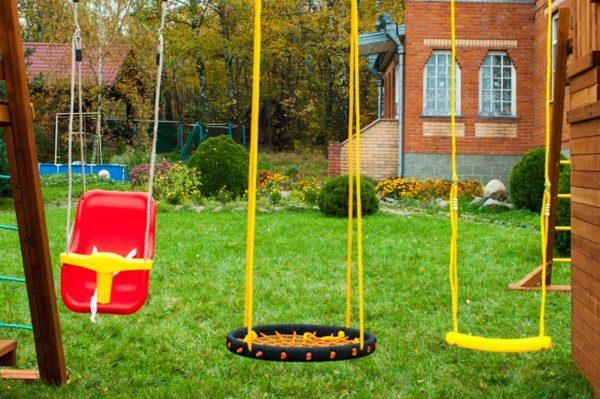 Детская площадка Выше Всех Крепость_4