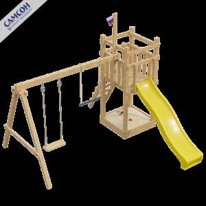 Детская площадка для дачи 1.0-Й ЭЛЕМЕНТ_1