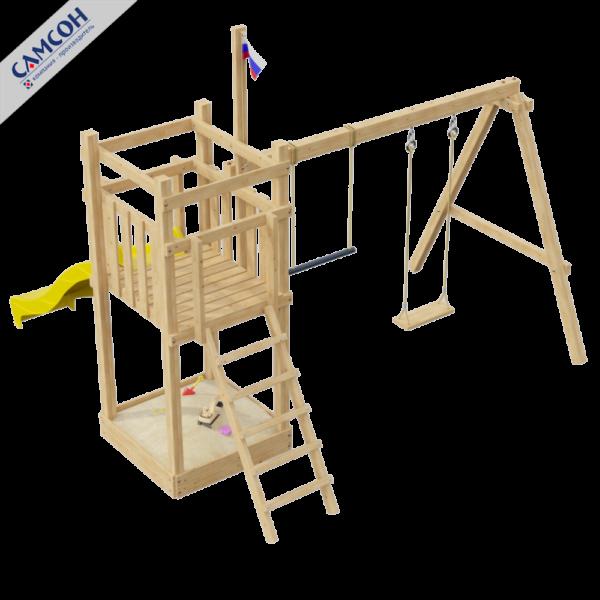 Детская площадка для дачи 1.0-Й ЭЛЕМЕНТ_2