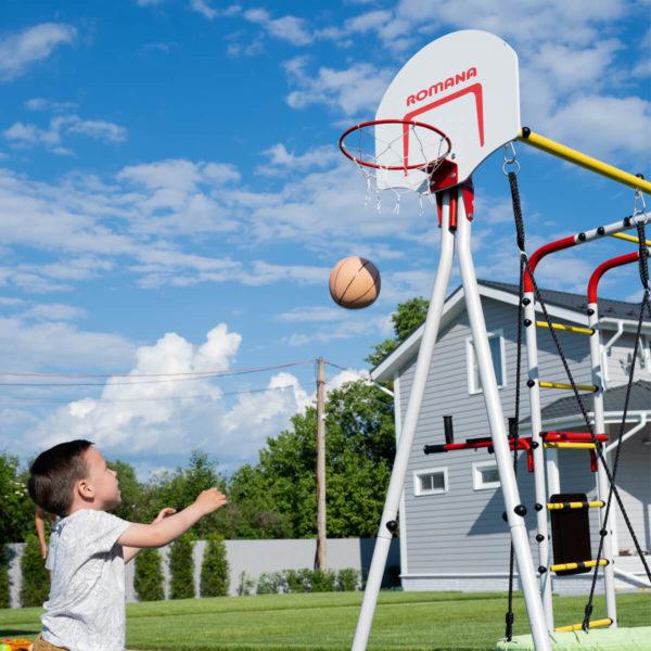Детский спортивный комплекс для дачи ROMANA Fitness_1