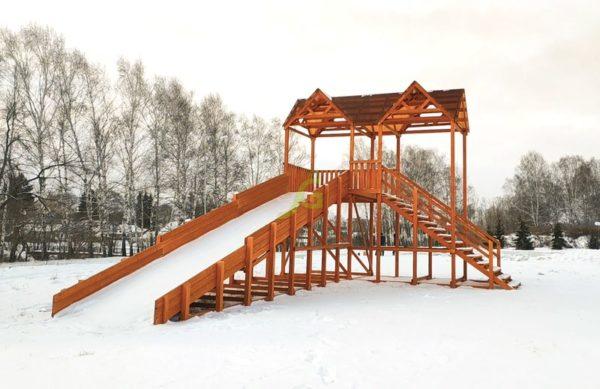Зимняя горка Snow Fox Макси скат 10 м_3