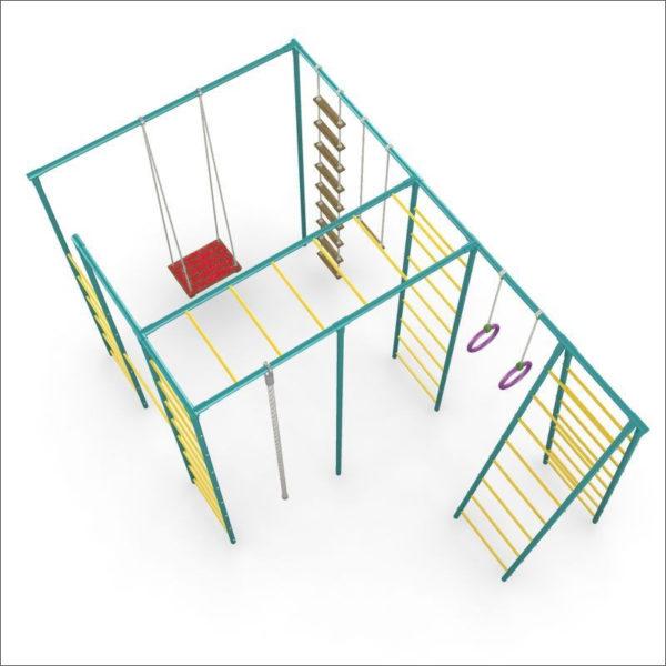 Детская площадка для дачи ЧЕ-СПОРТ Классик 2