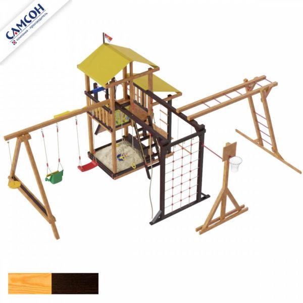 Детская площадка для дачи Самсон Кирибати Семейная_1