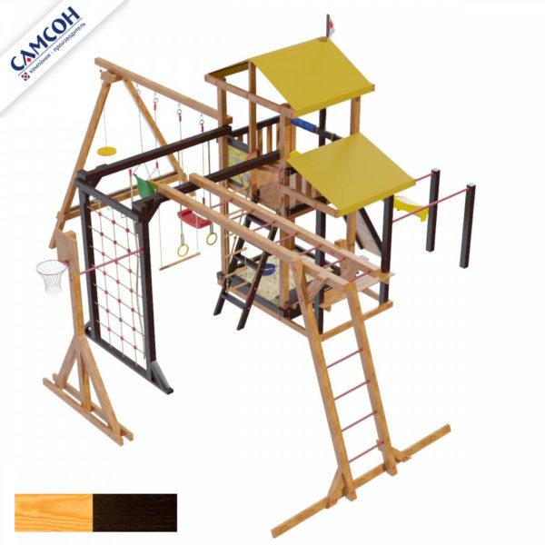 Детская площадка для дачи Самсон Кирибати Семейная_2