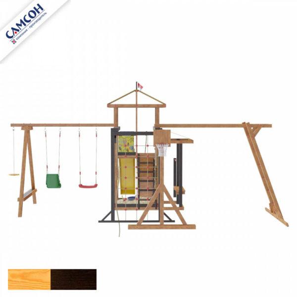 Детская площадка для дачи Самсон Кирибати Семейная_4
