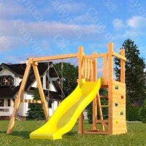 """Детская площадка Савушка """"Мастер"""" – 6 с качелями"""