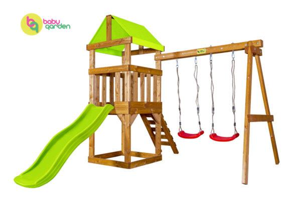 Детская игровая площадка Babygarden Play 1 LG (light green)