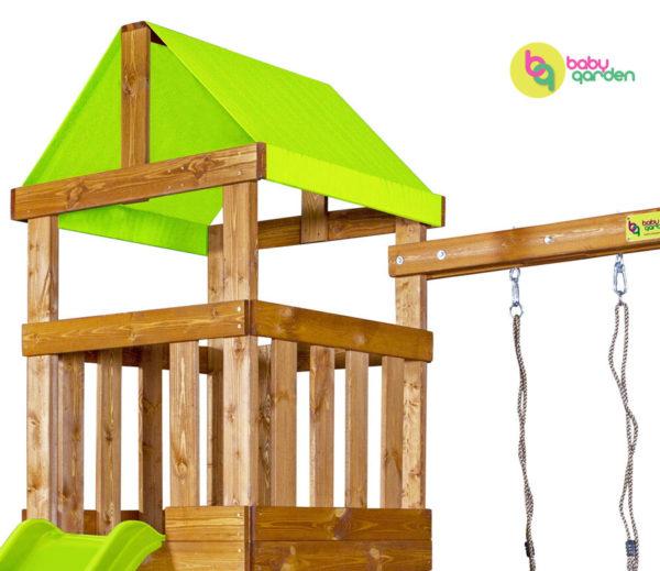 Детская игровая площадка Babygarden Play 1 LG (light green)_2