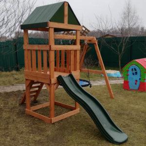 Детская игровая площадка Babygarden Play 1 с качелями-гнездо 1 м.