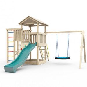 Детская площадка для дачи Лео с гнездом