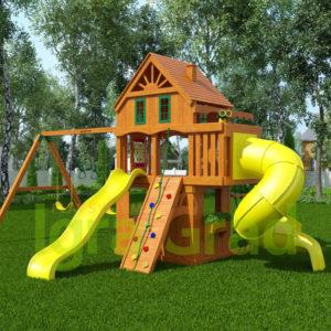Детская площадка IgraGrad Шато 2 с трубой (Домик)