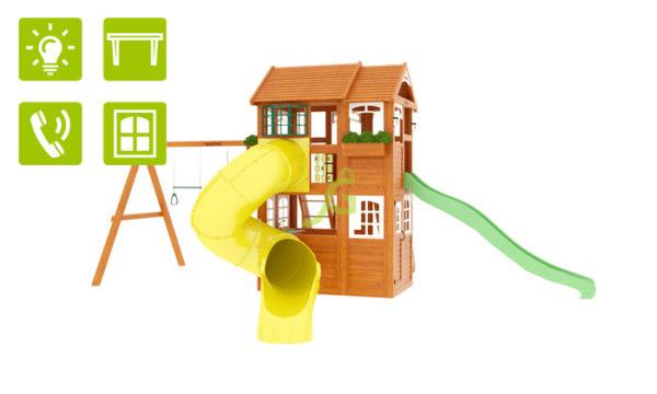 IgraGrad Клубный домик 2 с трубой Luxe_2