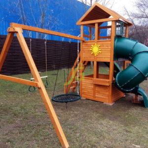 IgraGrad Клубный домик с трубой