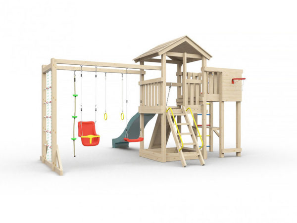 Детская площадка для дачи Лео макси_2