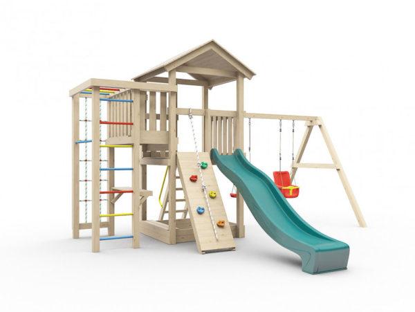Детская площадка для дачи Лео